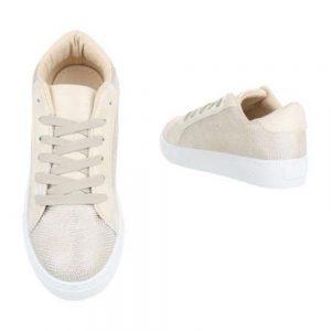 225-Y-GOLD Sneaker Γυναικείο