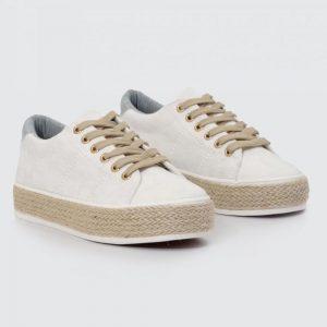 BF-54 WHITE Sneaker Γυναικείο