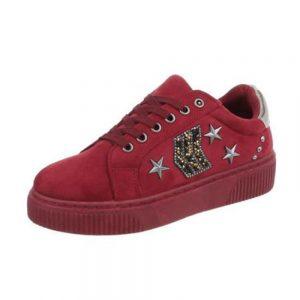 SP1810-WINE Sneaker Γυναικείο